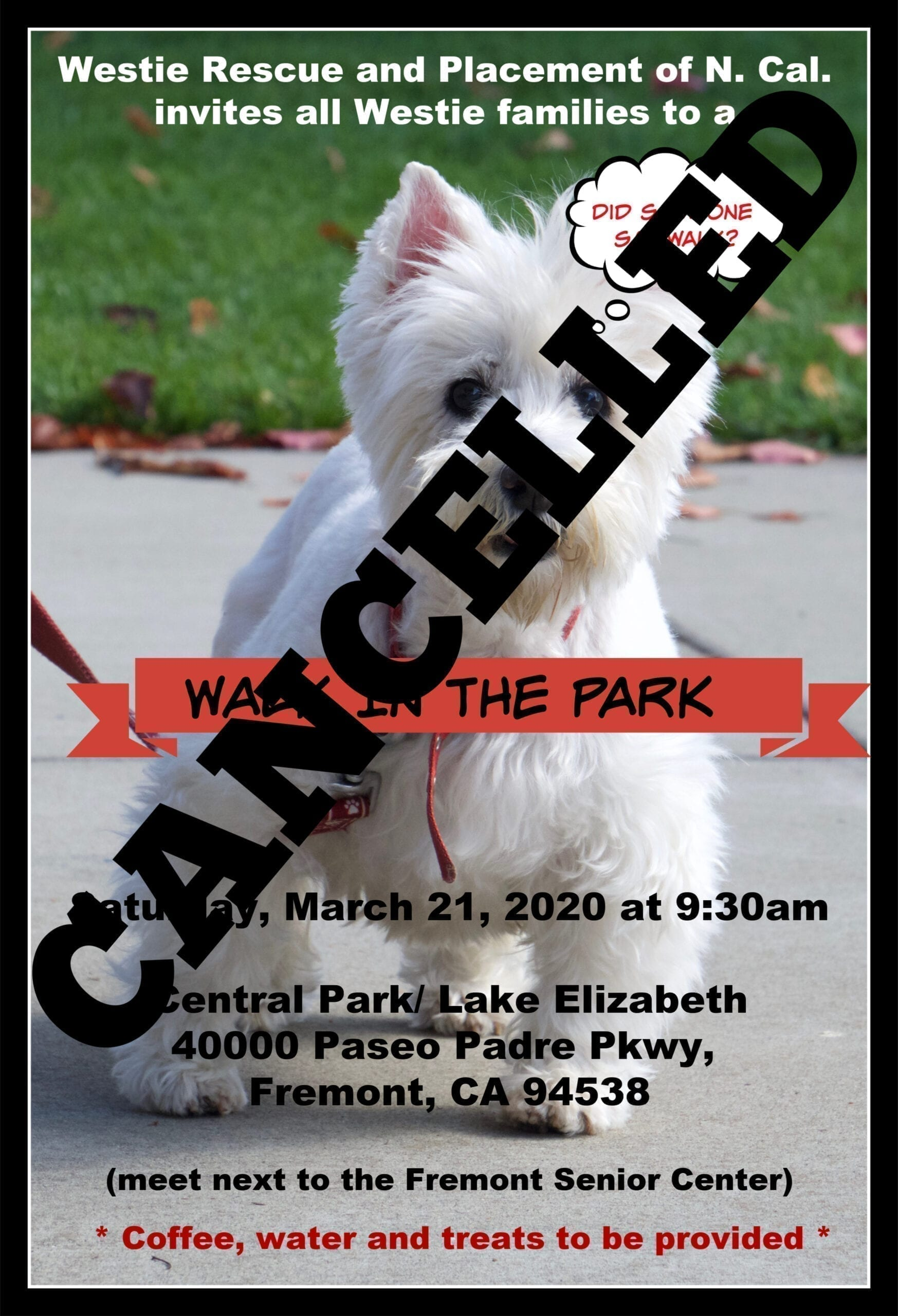 Cancelled 2020 WRAP Walk in the Park